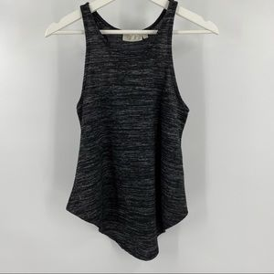 RD style heathered charcoal grey tank top